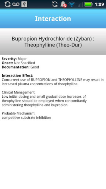 IBM Micromedex Drug Int. screenshot 5