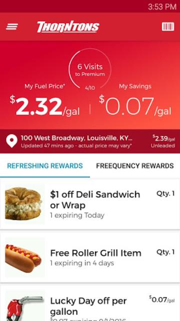 Thorntons Refreshing Rewards screenshot 1
