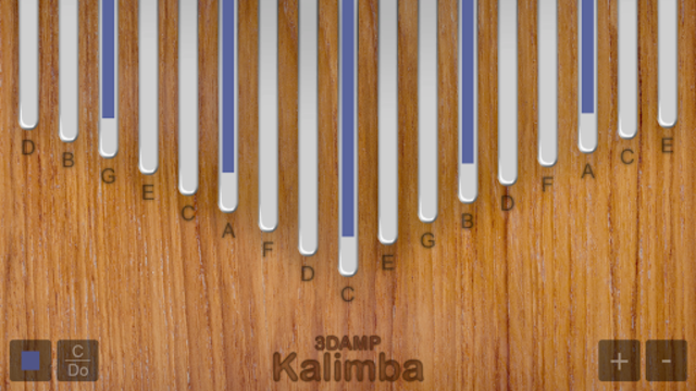 Kalimba screenshot 2