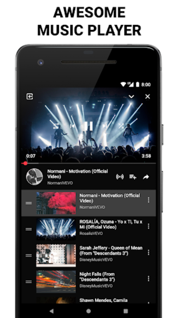 Free Music & Videos - Music Player for YouTube screenshot 3