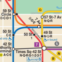 Icon for Map of NYC Subway: offline MTA – Ad Free!