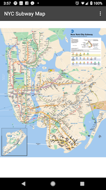 Map of NYC Subway: offline MTA – Ad Free! screenshot 1