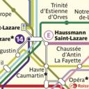 Icon for Metro Map: Paris (Offline) – Ad Free!