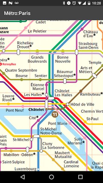 Metro Map: Paris (Offline) – Ad Free! screenshot 2