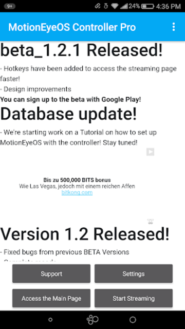 MotionEyeOS Controller Pro screenshot 3