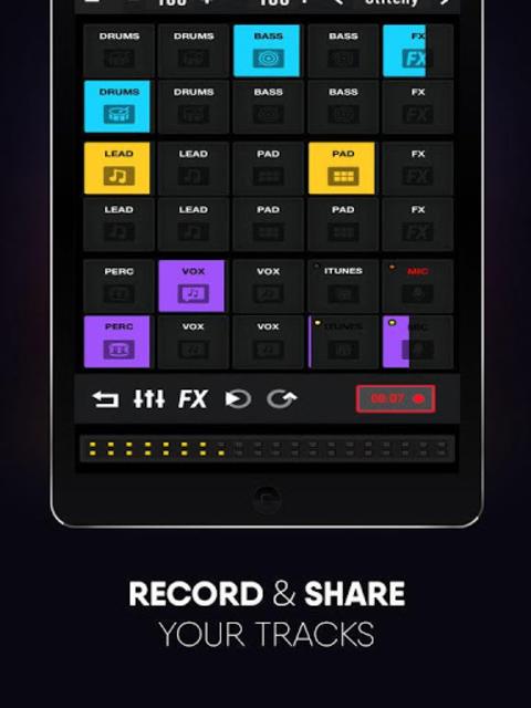 Dubstep Pad Pro 2018 screenshot 2
