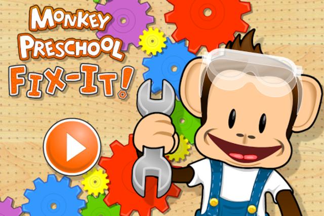 Monkey Preschool Fix-It screenshot 1