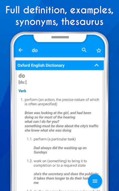 Dictionary & Thesaurus (Definition synonyms idiom) screenshot 6