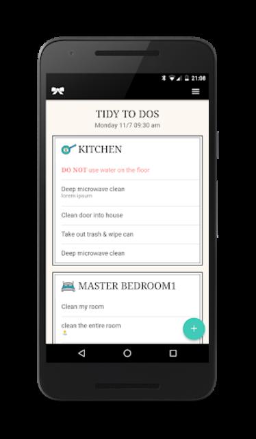 TIDY - Home Cleanings screenshot 1