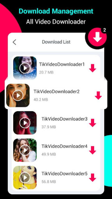 Video Downloader for tik tok - GIF Downloader screenshot 4