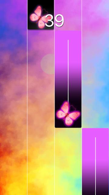 Pink Piano Music Tiles: KPOP screenshot 2