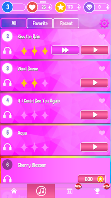 Pink Piano Music Tiles: KPOP screenshot 4