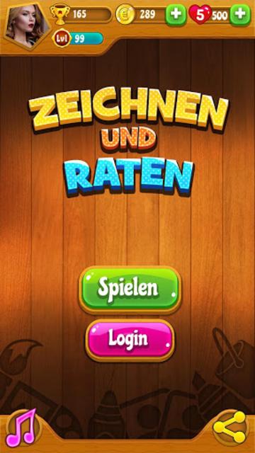Zeichnen und Raten Multiplayer - Alte Version screenshot 11