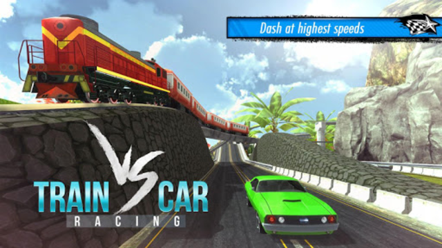 Train vs Car Racing 3D screenshot 11