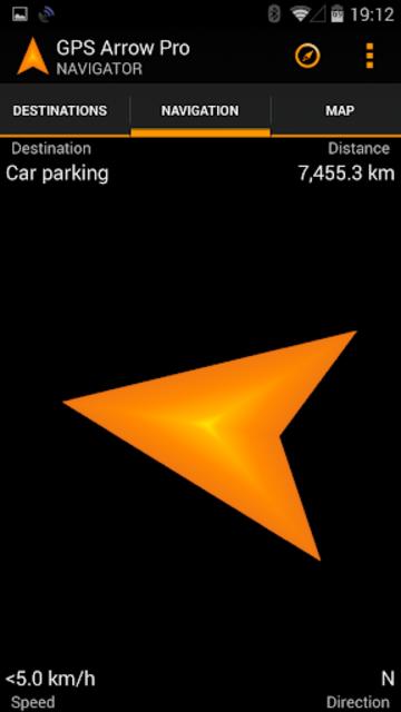 GPS Arrow Navigator PRO screenshot 4
