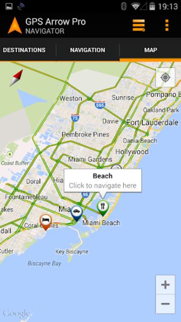 GPS Arrow Navigator PRO screenshot 5