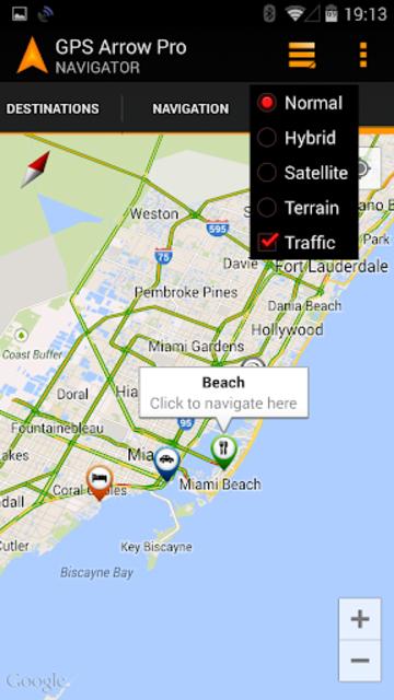 GPS Arrow Navigator PRO screenshot 6
