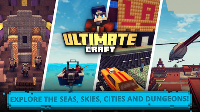 Ultimate Craft: Exploration of Blocky World screenshot 2