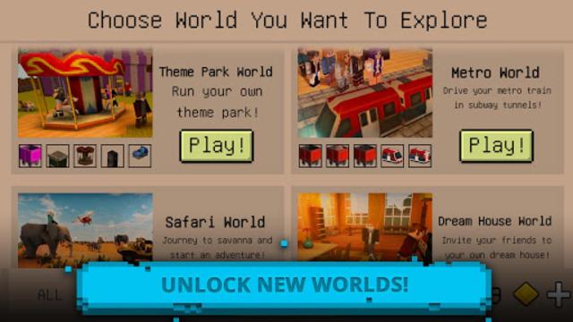 Ultimate Craft: Exploration of Blocky World screenshot 4
