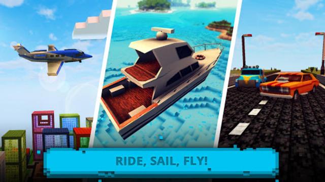 Ultimate Craft: Exploration of Blocky World screenshot 8