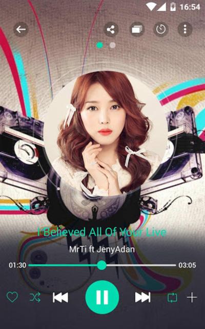 Music player screenshot 9