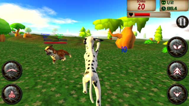 About: Dog Simulator Dogs Breeds 3D (Google Play version