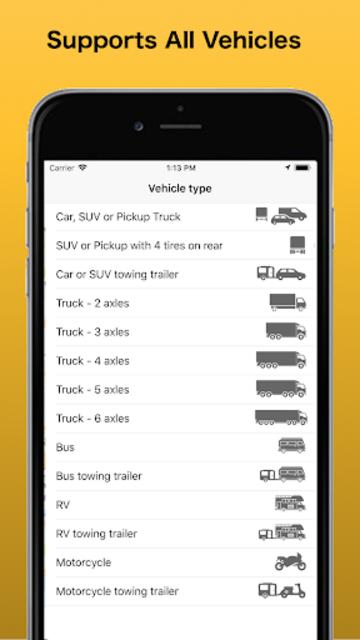 Trip & Toll Calculator - car truck Free | Tollguru screenshot 4