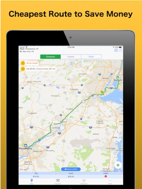 Trip & Toll Calculator - car truck Free | Tollguru screenshot 9