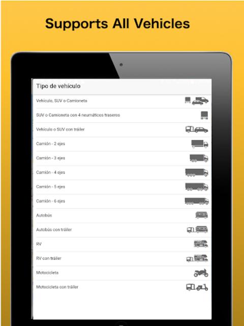 Trip & Toll Calculator - car truck Free | Tollguru screenshot 17