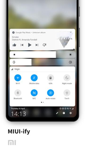 MIUI-ify - Notification Shade screenshot 1