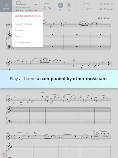 Tomplay Sheet Music screenshot 2