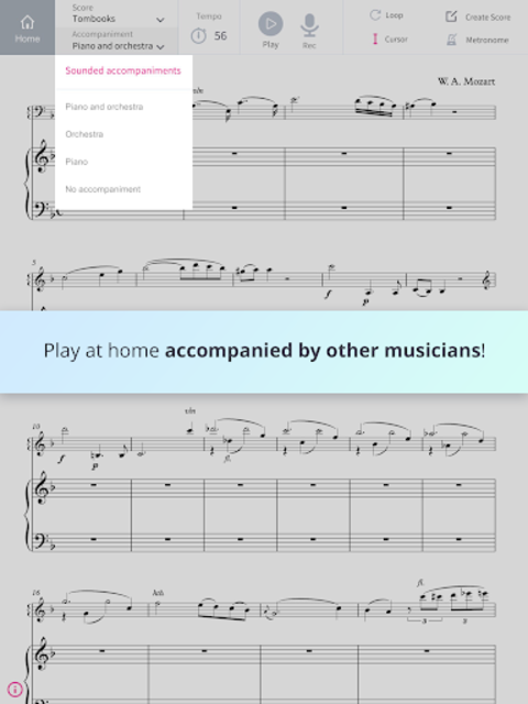 Tomplay Sheet Music screenshot 6