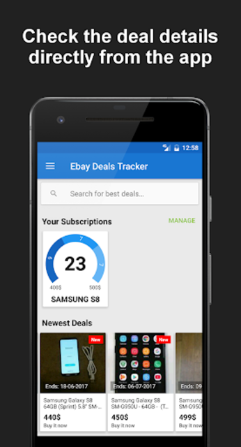 Deals Tracker for eBay PRO screenshot 6