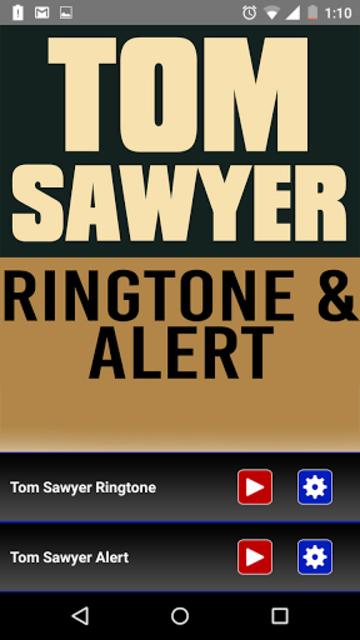 Tom Sawyer Ringtone and Alert screenshot 1
