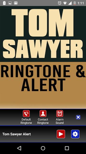 Tom Sawyer Ringtone and Alert screenshot 2