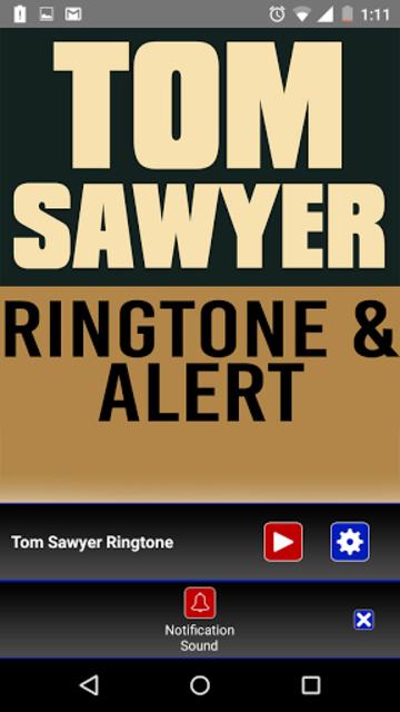 Tom Sawyer Ringtone and Alert screenshot 3