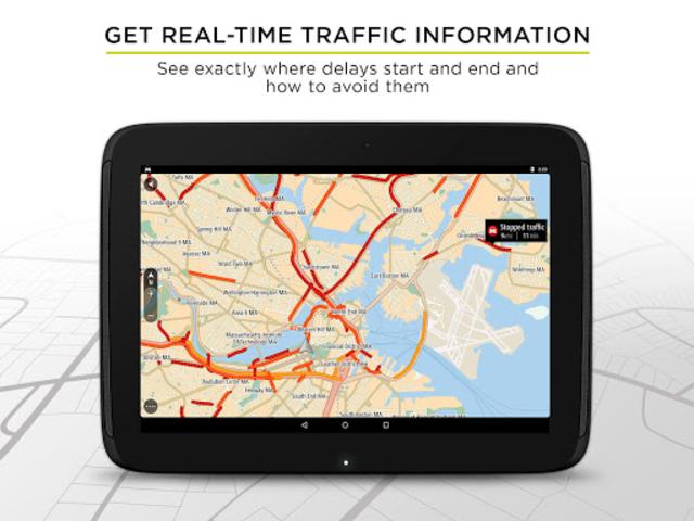 TomTom GPS Navigation - Live Traffic Alerts & Maps screenshot 9