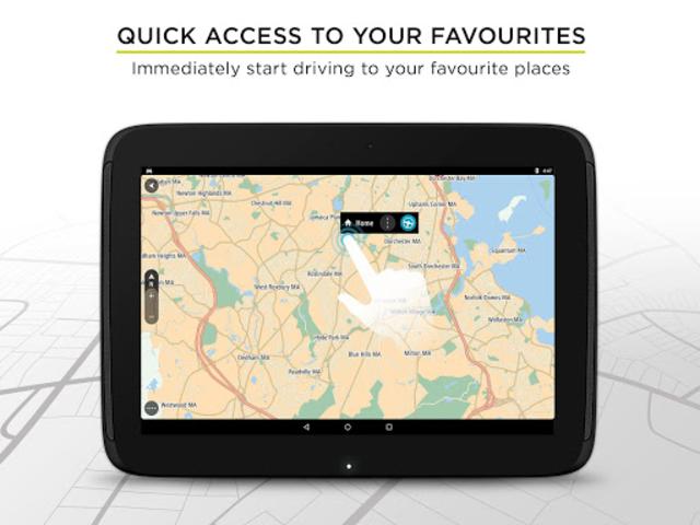 TomTom GPS Navigation - Live Traffic Alerts & Maps screenshot 10