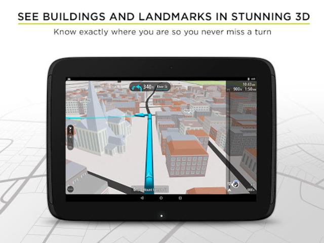 TomTom GPS Navigation - Live Traffic Alerts & Maps screenshot 11