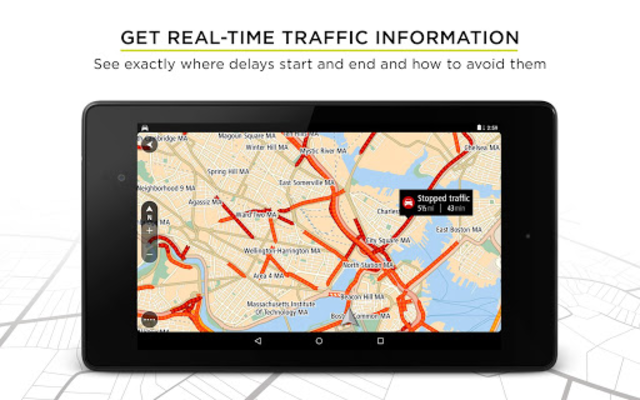 TomTom GPS Navigation - Live Traffic Alerts & Maps screenshot 16