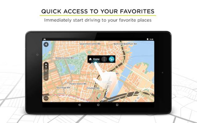 TomTom GPS Navigation - Live Traffic Alerts & Maps screenshot 17