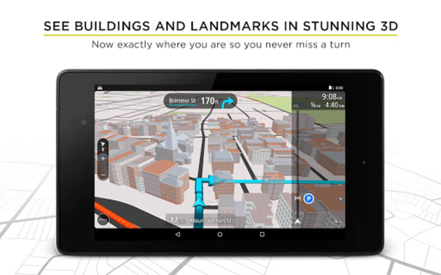 TomTom GPS Navigation - Live Traffic Alerts & Maps screenshot 18