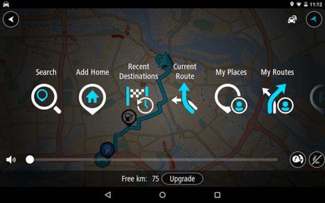 TomTom GPS Navigation - Live Traffic Alerts & Maps screenshot 21