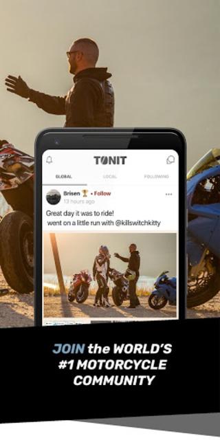 TONIT - THE #1 MOTORCYCLE COMMUNITY screenshot 2