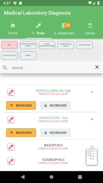 Medical Laboratory Diagnosis screenshot 2