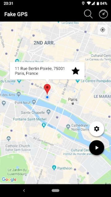 Fake GPS Joystick - Mock Location screenshot 5