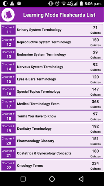 Medical Terminology By Topic: 22 Topics 3000 Terms screenshot 2