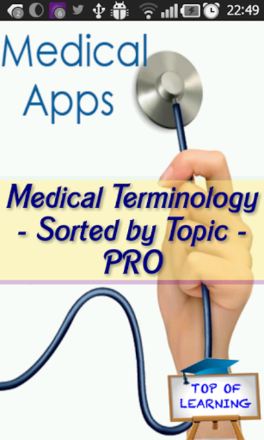 Medical Terminology By Topic: 22 Topics 3000 Terms screenshot 1