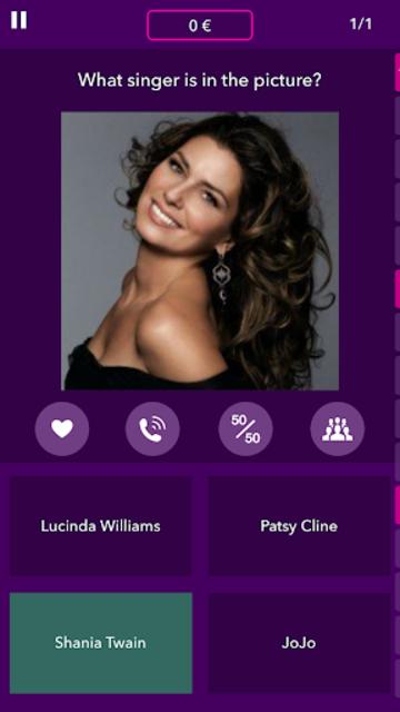 Millionaire Music Quiz screenshot 1
