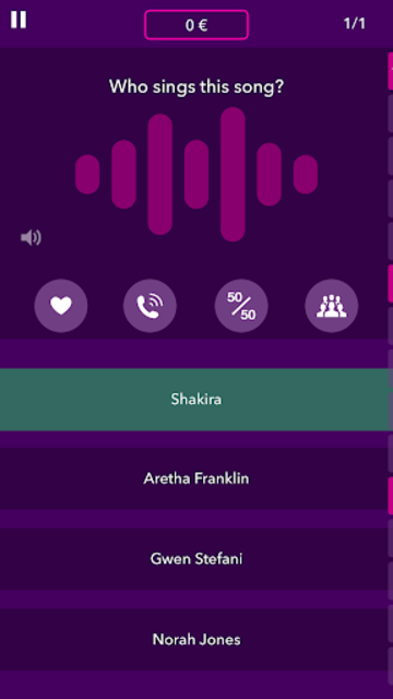 Millionaire Music Quiz screenshot 2